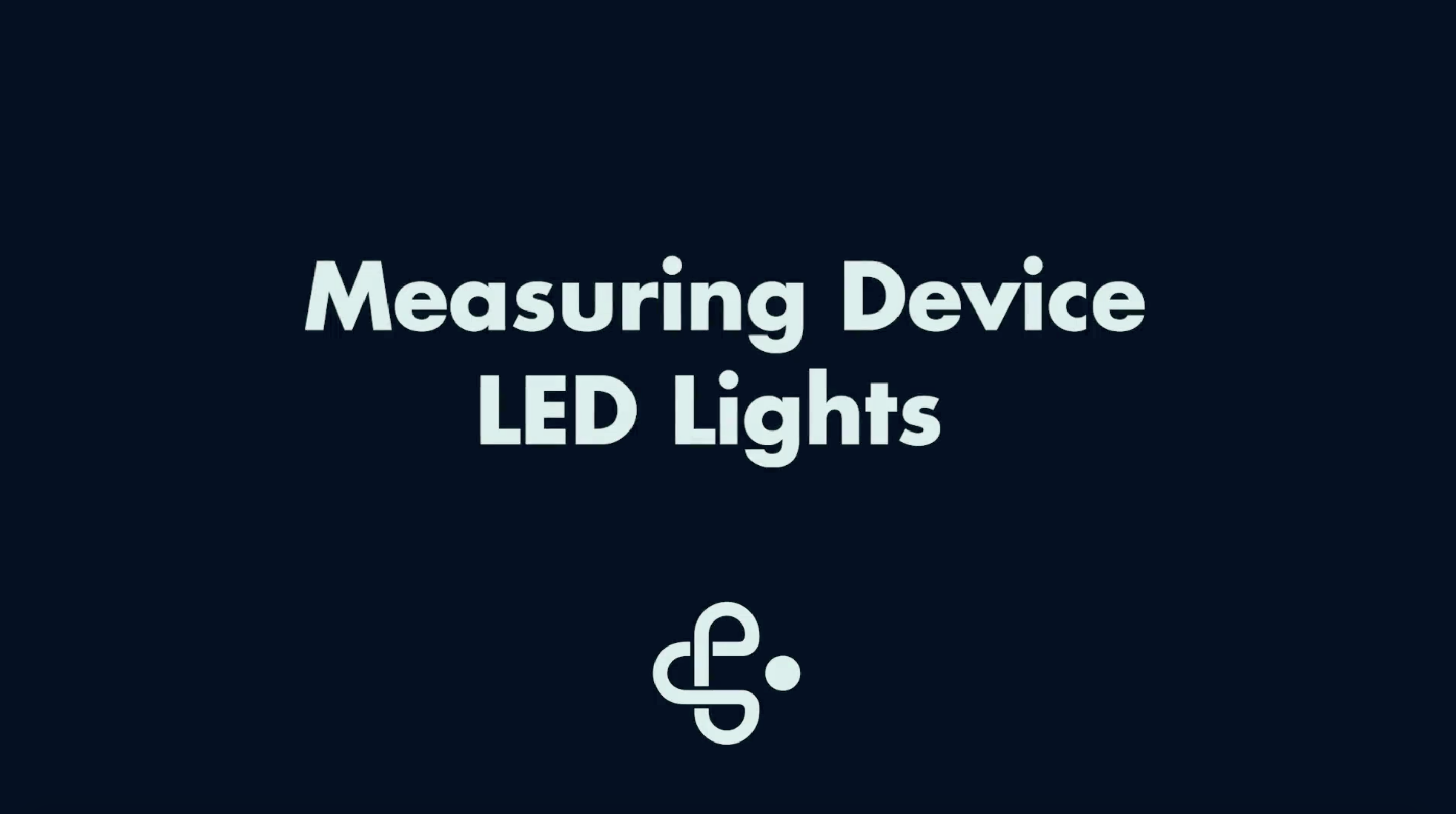 Measuring Device LED Lights