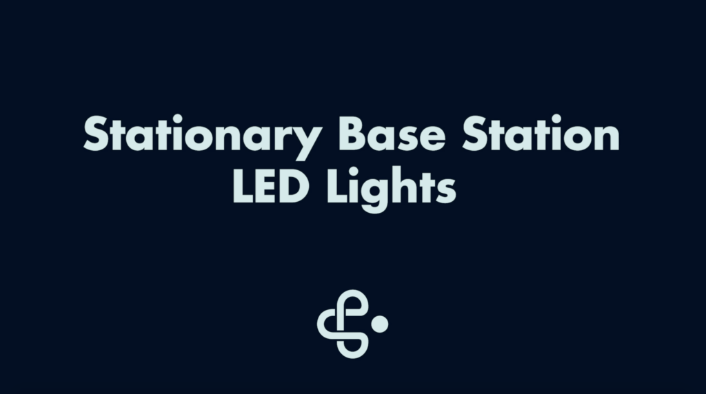 Stationary Base Station LED Lights